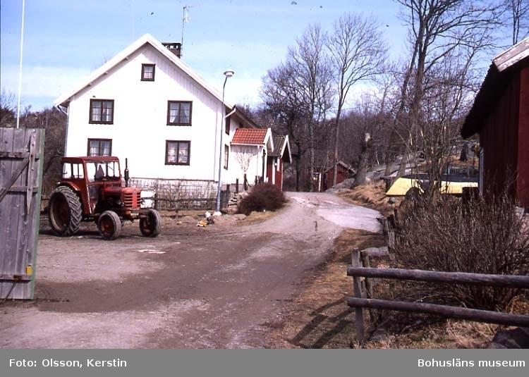 """Text på kortet: """"Vrångebäck. Bro sn. April 1987""""."""