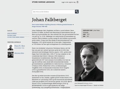 Falkberget - Store Norske Leksikon