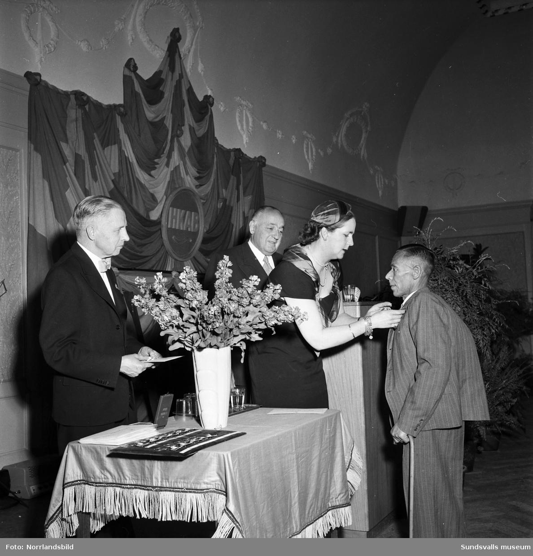 Hammarforsens Kraft firar 25-årsjubileum med medaljutdelning på W6 samt galamiddag i Stadshussalongen.