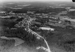 Flygfoto över Forserum i Nässjö kommun. Nr C1814