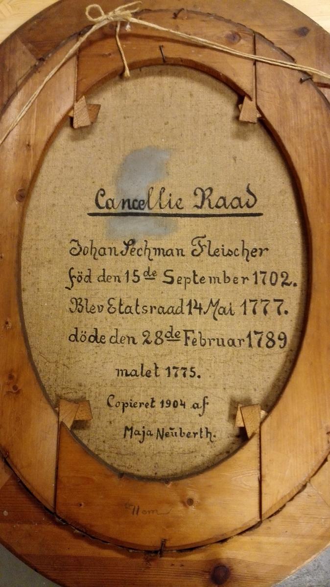 Sorenskrivar i Hardanger og Voss, Johan Sechmann Fleischer