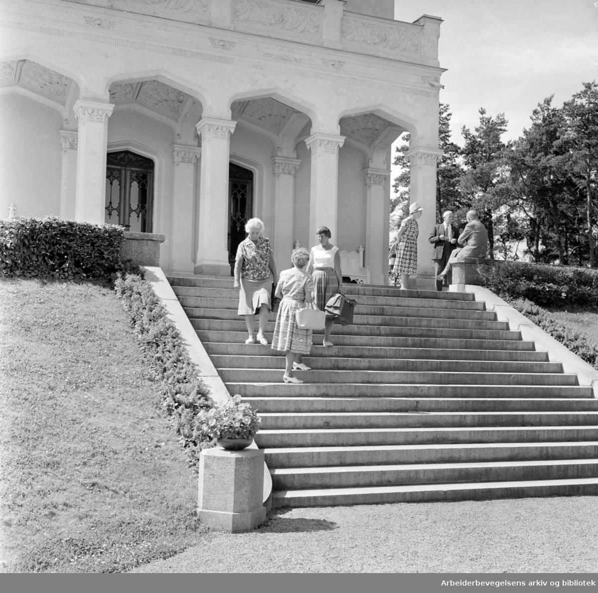 Oscarshall. Juli 1964