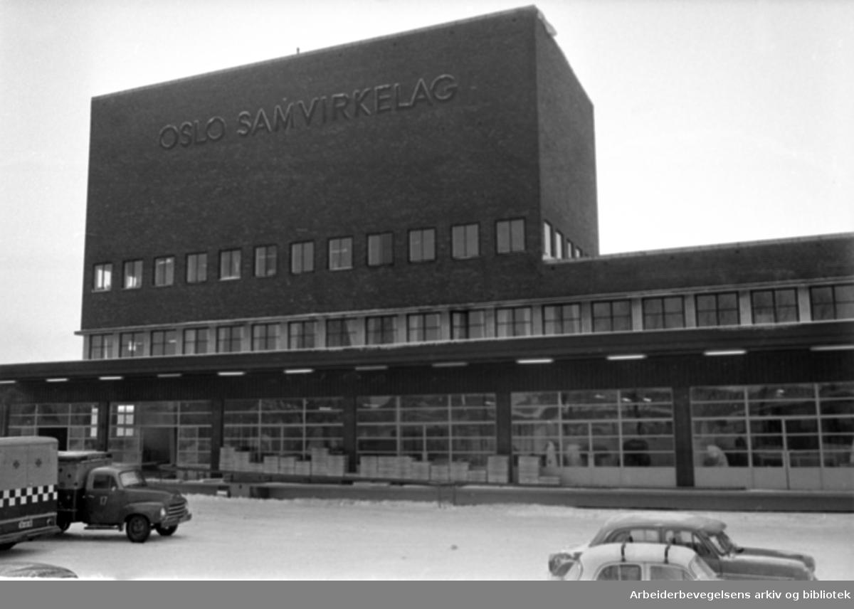Løren. Oslo Samvirkelag, Bakeriet.Desember 1965