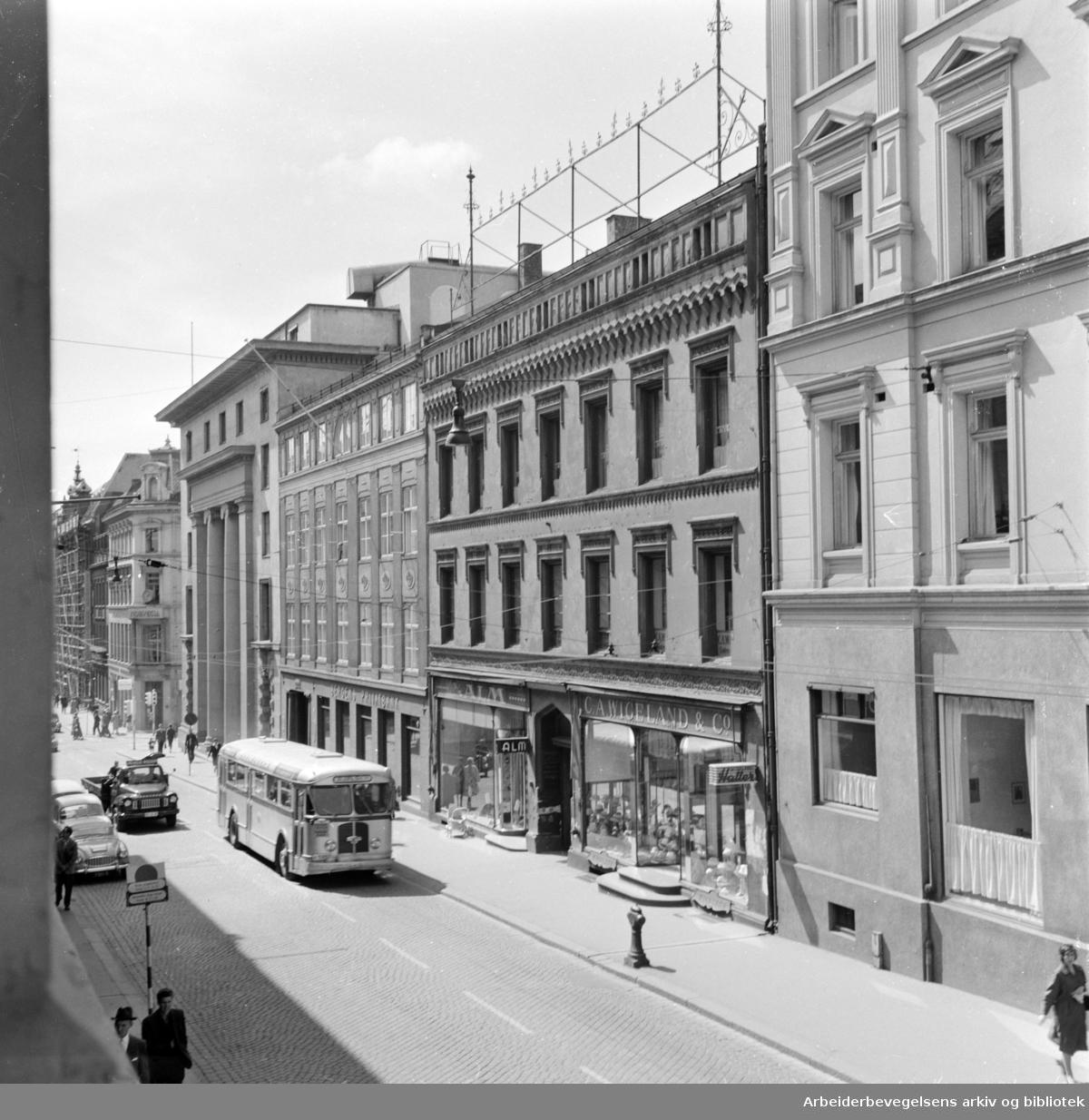Kirkegata. Juli 1960