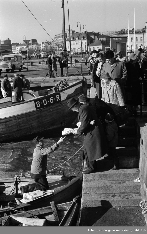 Havna. Stemning. Mars 1961