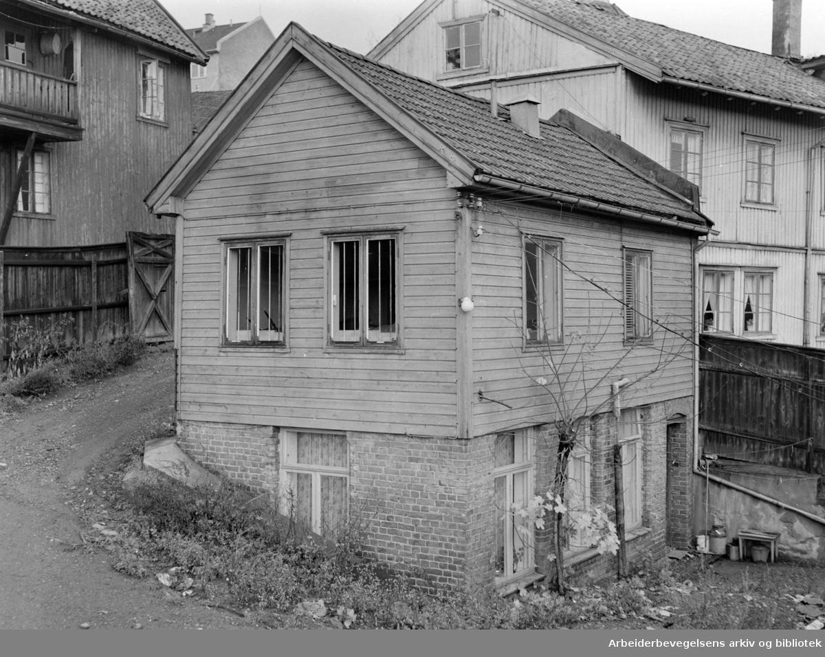 Hølandsgata. November 1957
