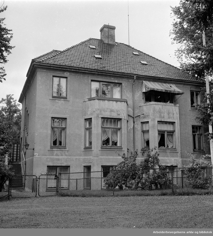 Halvdan Svartes gate 33 c. September 1957