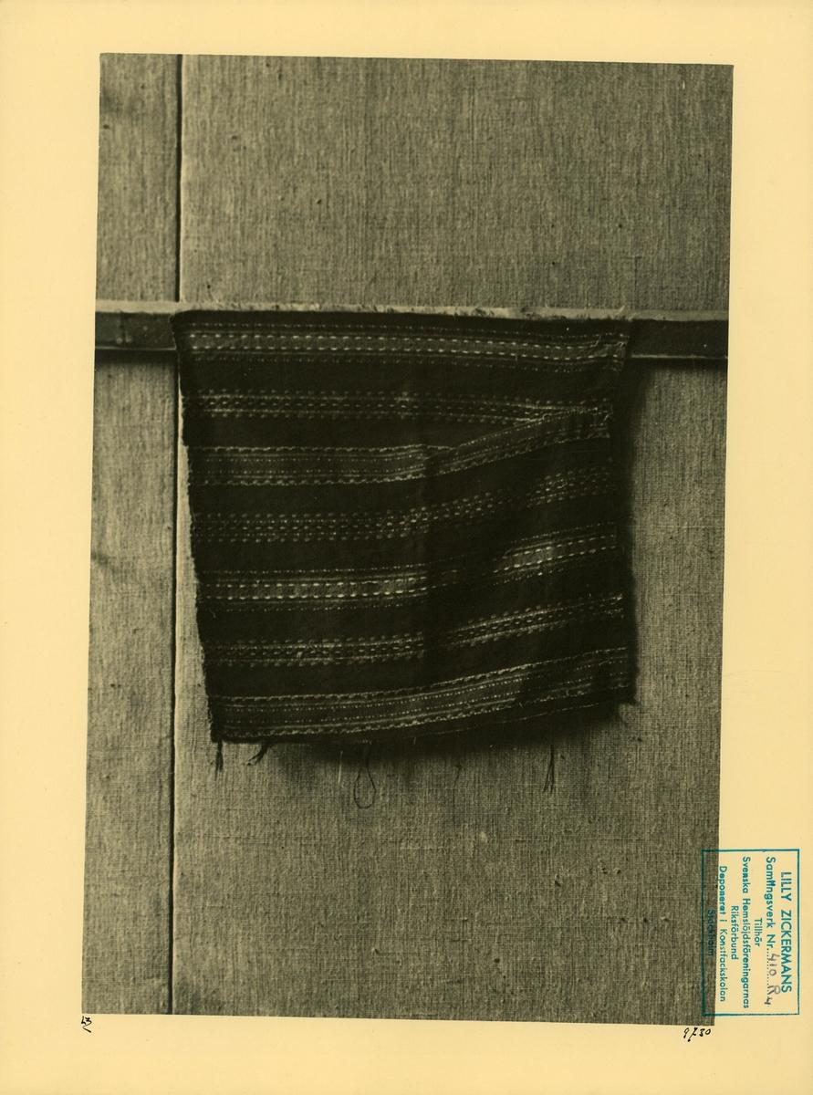 Del av textil.