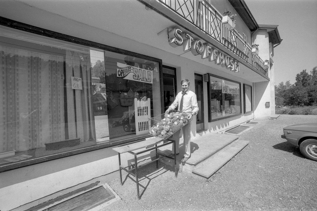 Stoffhuset på Kolbotn opphører på grunn av lite kunder.