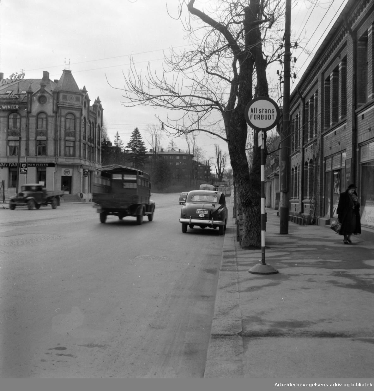 Drammensveien 130. Mai 1955