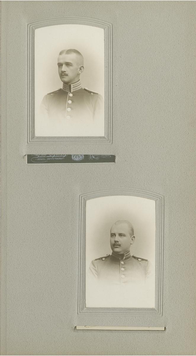 Porträtt av Karl Georg Viggo Key, löjtnant vid Första livgrenadjärregementet I 4.