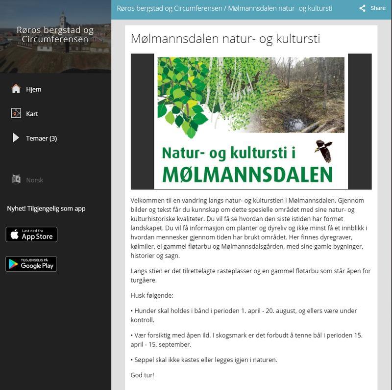 Natursti Mølmannsdalen