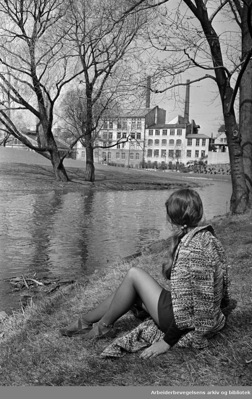 Akerselva. Mai 1972
