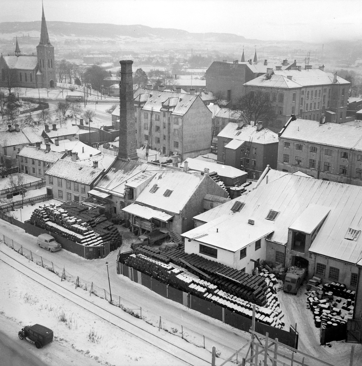 Fritz Rambech, fabrikk i Ila
