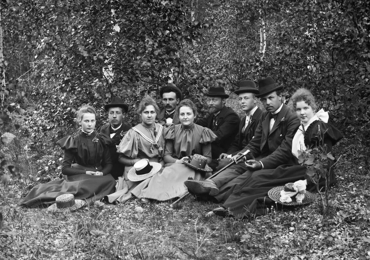 Kristian Dahl og gruppe.