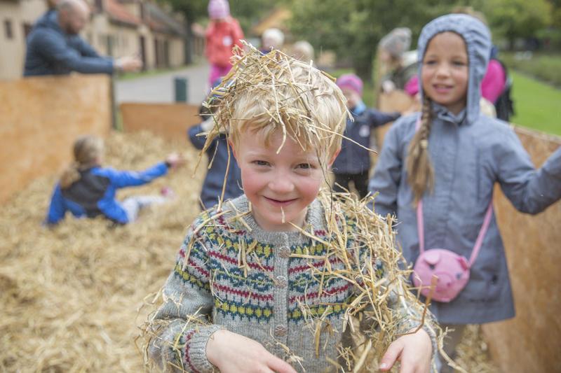 Høstdag på Bogstad Gård, aktiviteter for barn, høstmarked