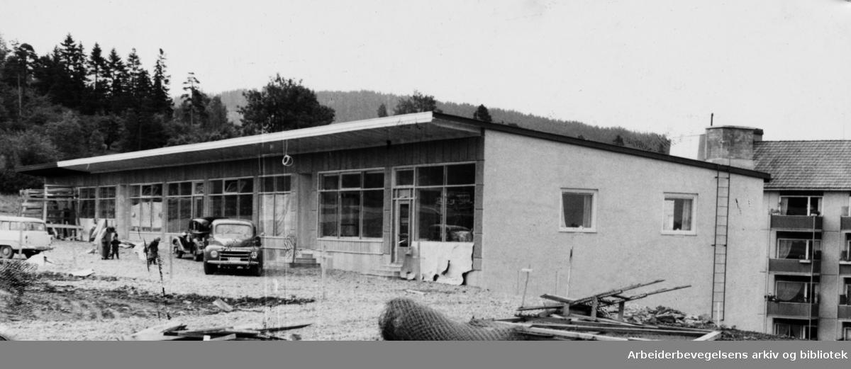 Årvoll postkontor. September 1957