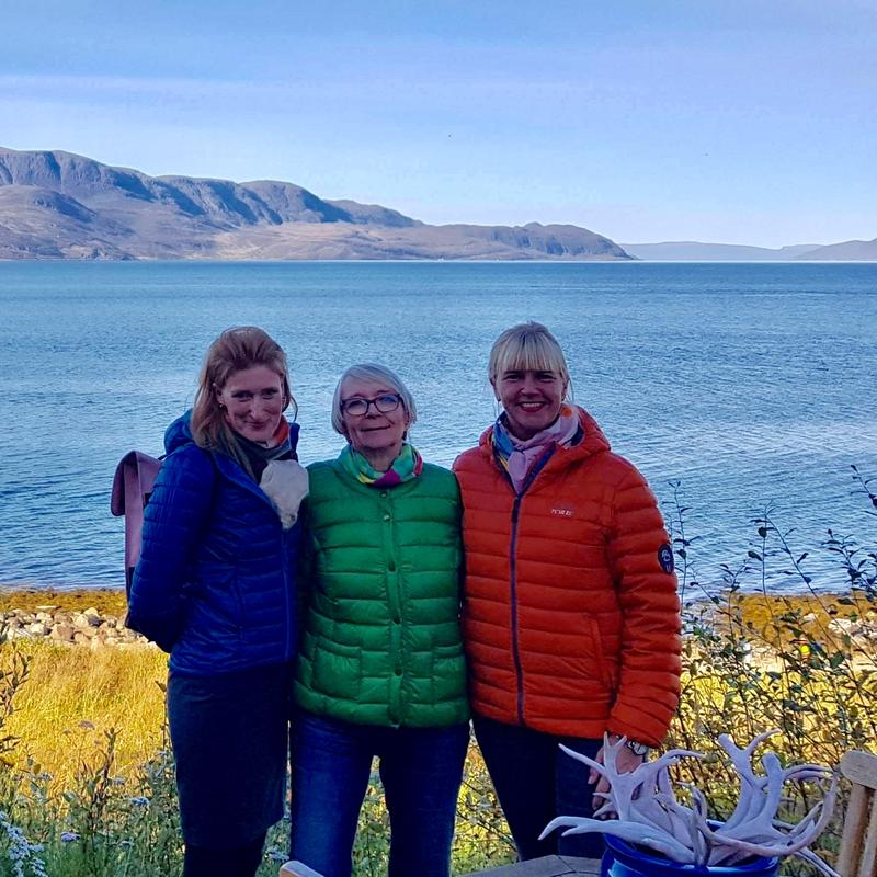 Anne Marie og Birte med Marion Palmer (Foto/Photo)