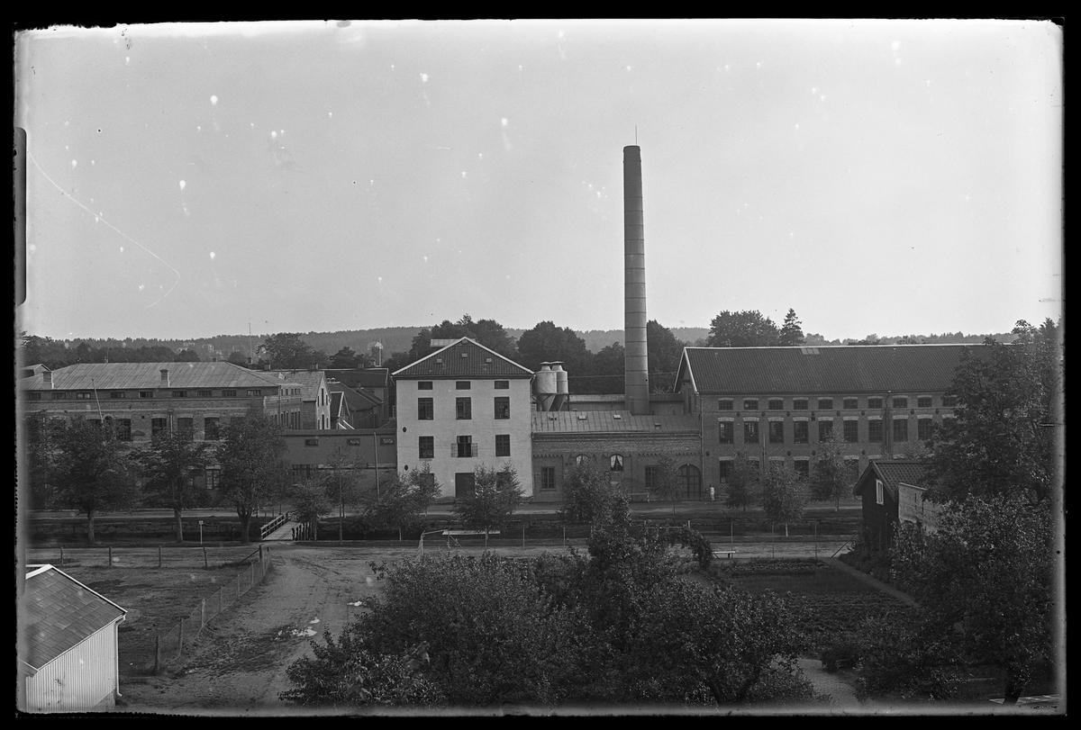 Alingsås Bomullsväveris gamla fabrik.