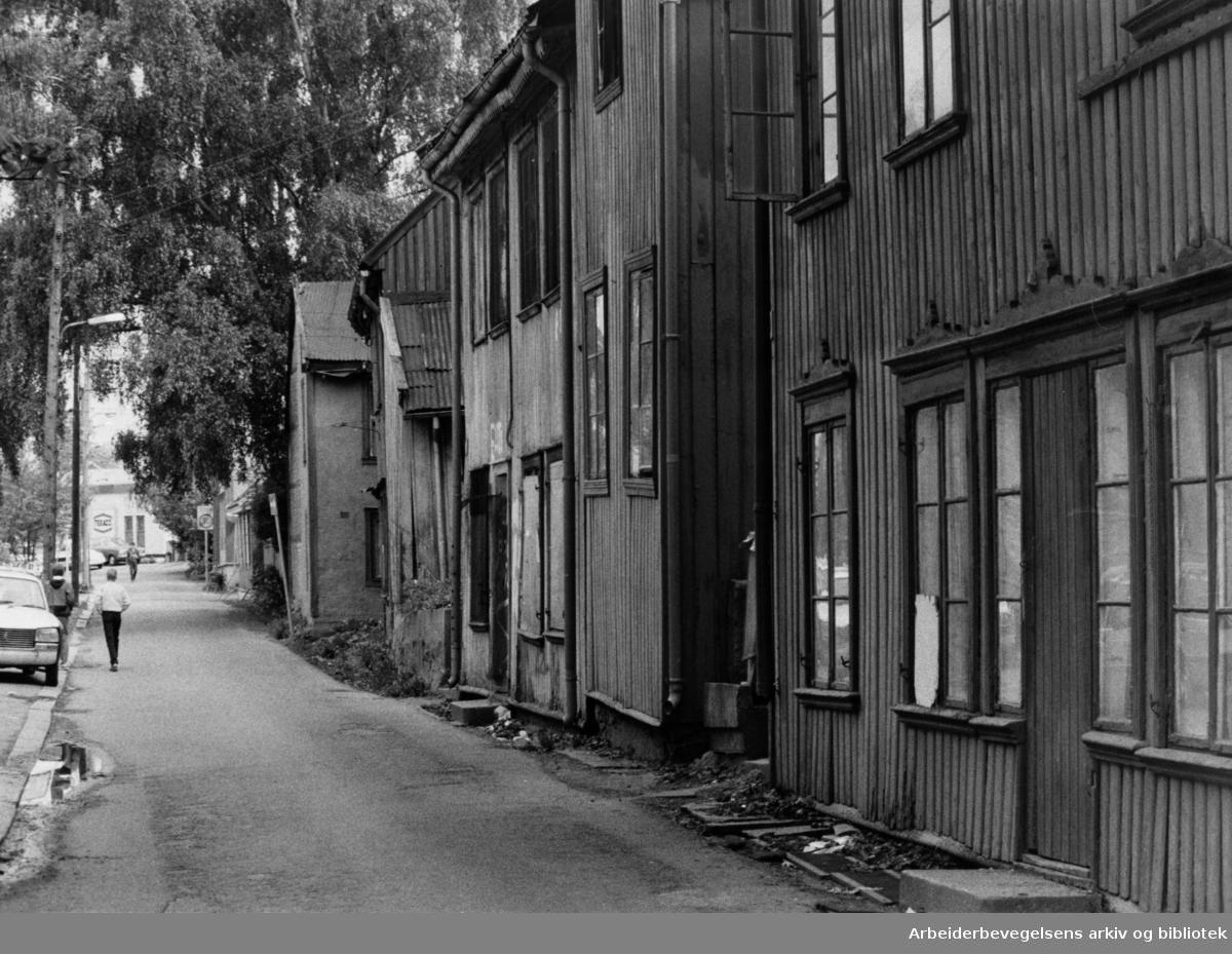 Brinkens gate, Brinken. 28. mai 1985