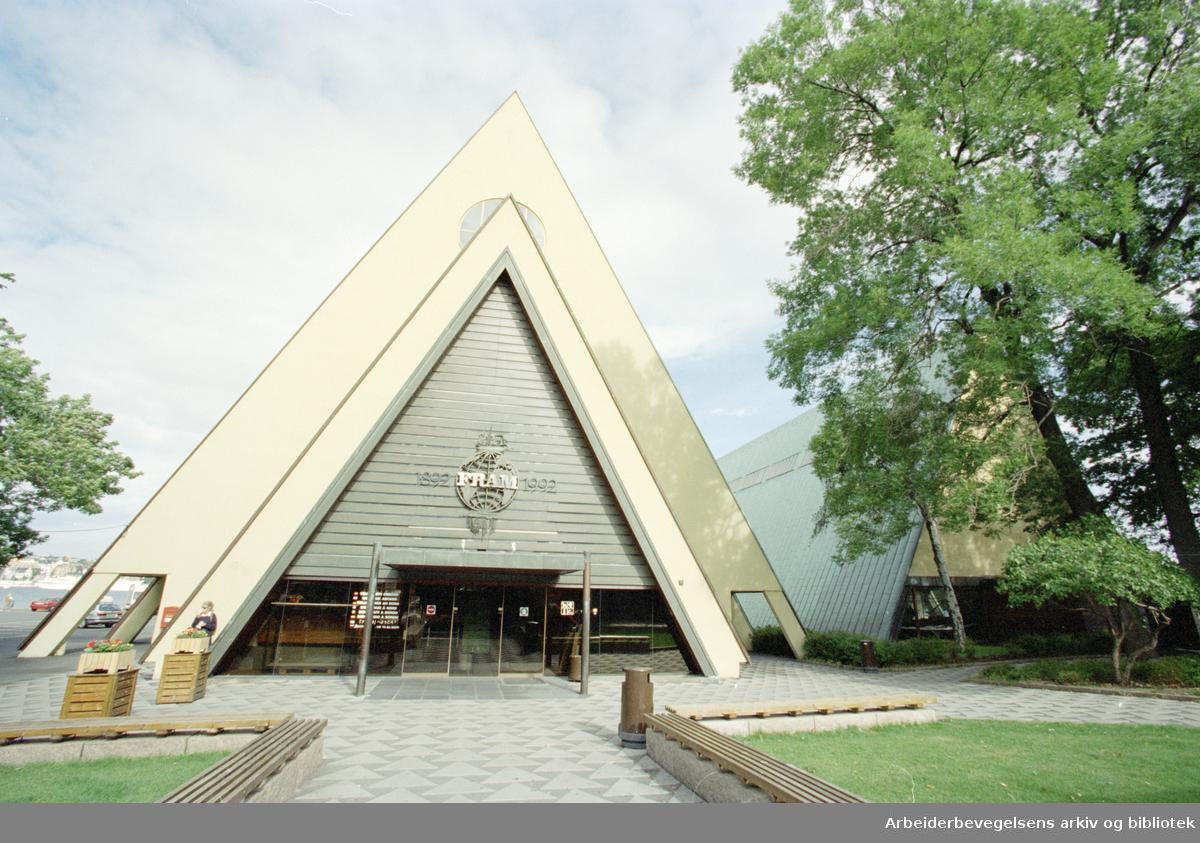 Bygdøy Folkemuseum. Fram-museet. 3. september 1996