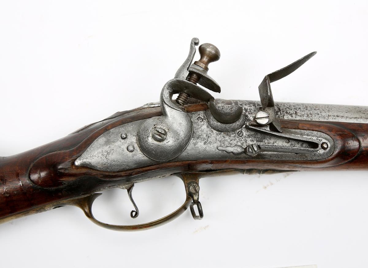 Dansk/norsk flintelåsmuskett M/1750.