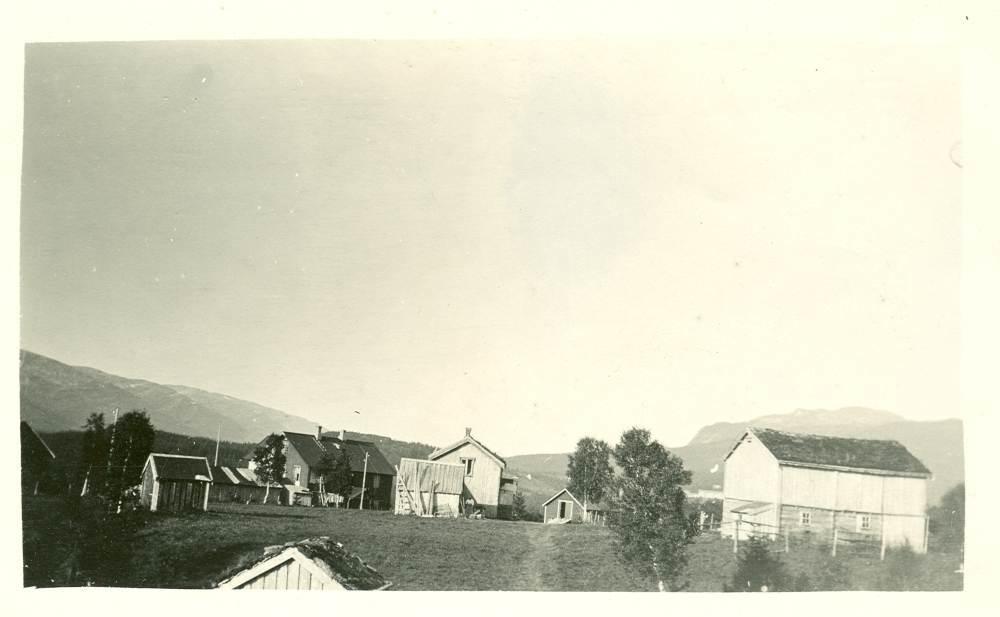 Nilsskog etter flyttingen i 1911.