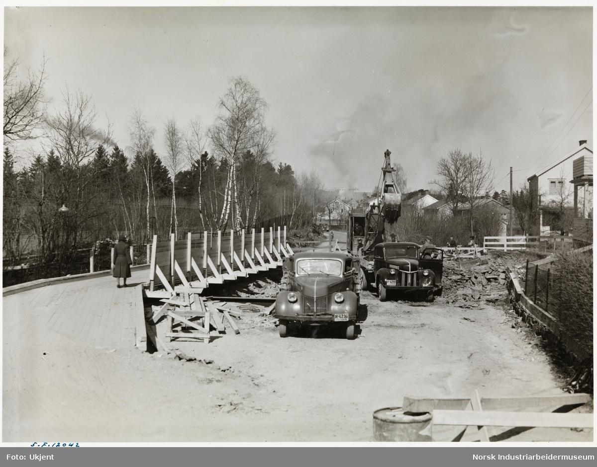 Anleggsarbeider for tunnelkanal Gunneklev-Frierfjorden