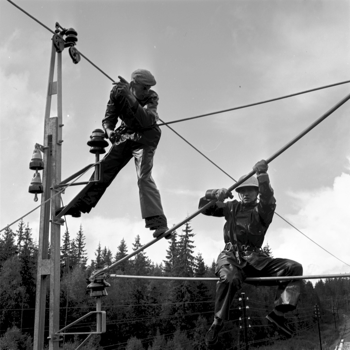 El-arbeten, Borås-Gnosjö