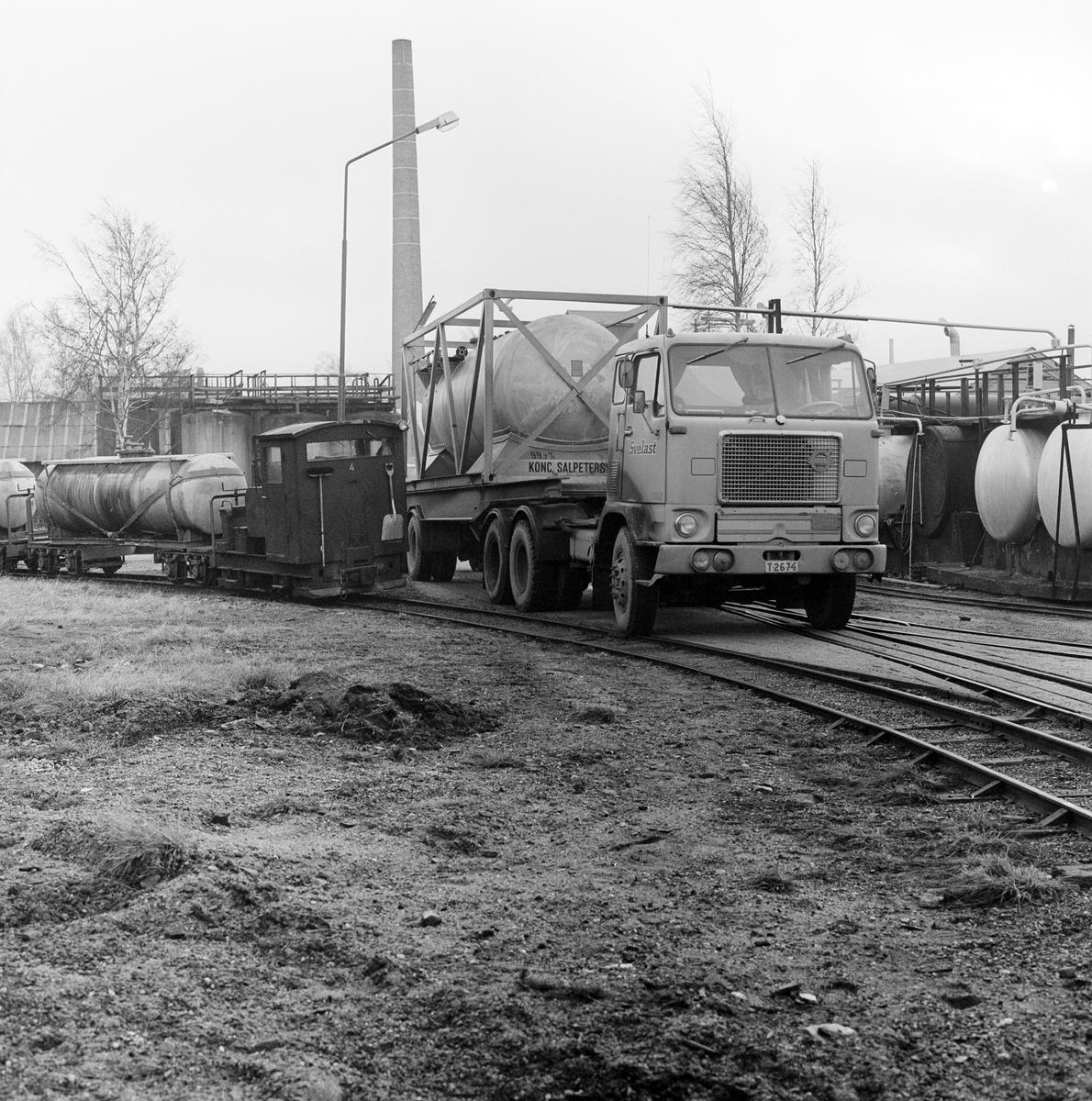Lok nr 4. Containertransport Ör - Gyttorp