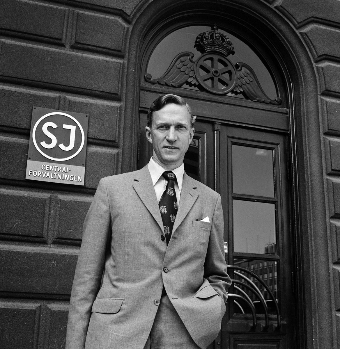 Statens Järnvägar, SJ Förvaltningen Generaldirektör Lars Peterson