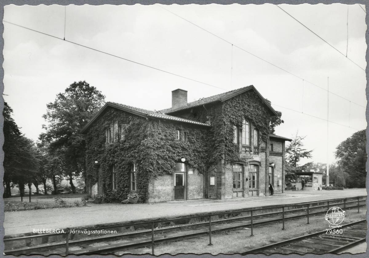 Billeberga stationsområde.