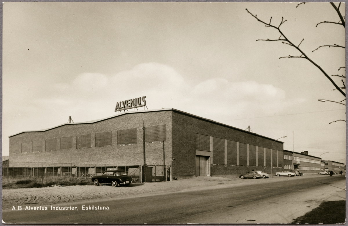 Fabrik Fr Tillverkning Av Rrsystem I Eskilstuna Aktiebolaget Alvenius Industrier