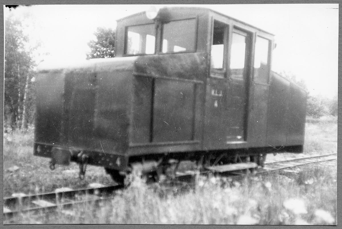 Kosta - Lessebo Järnväg, KLJ Lokomotor 4.