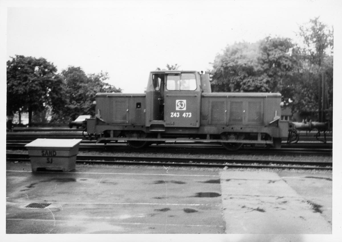 Statens Järnvägar, SJ Z43 473.