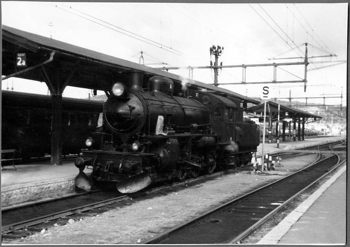Statens Järnvägar, SJ B 1286 Under provkörning i Östersund.