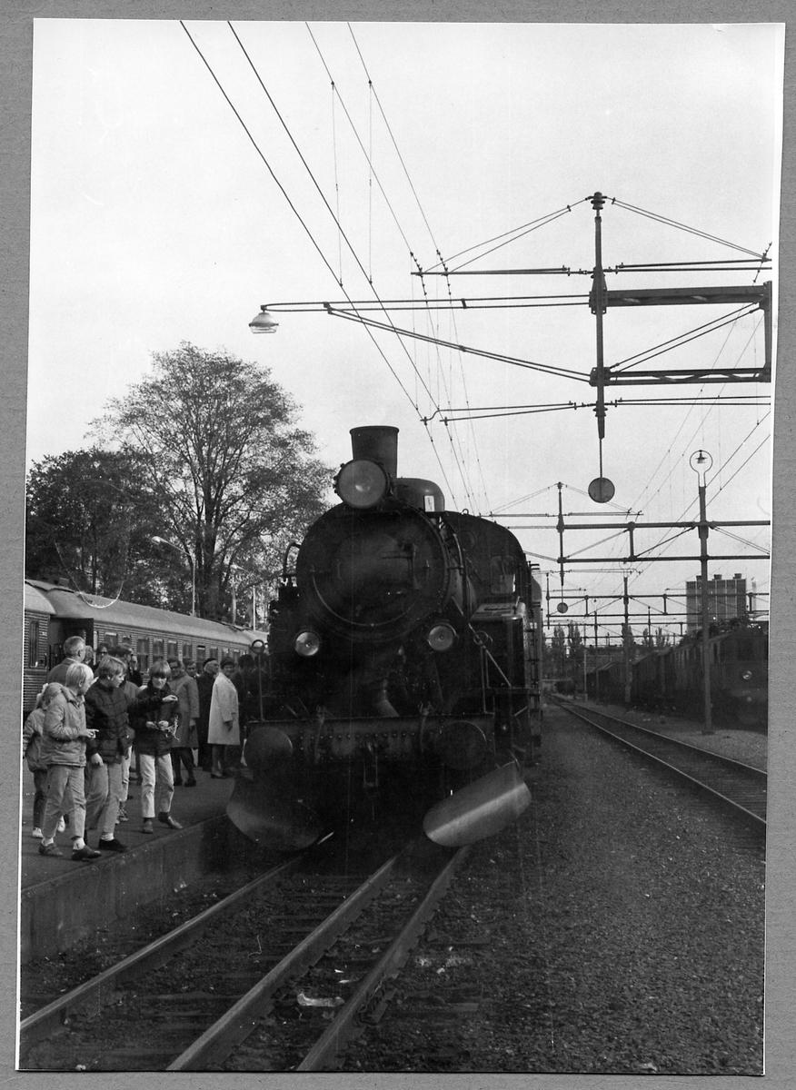 Statens Järnvägar, SJ S1 1924 i Karlstad.