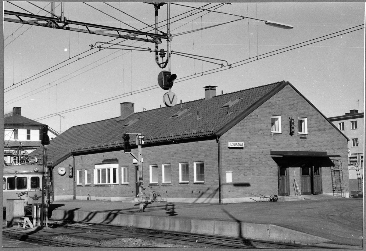 Ljusdal Järnvägsstation.