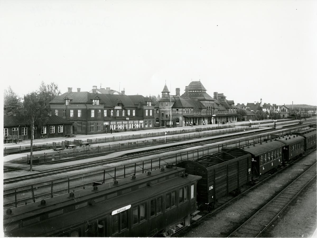 Avesta Krylbo järnvägsstation.