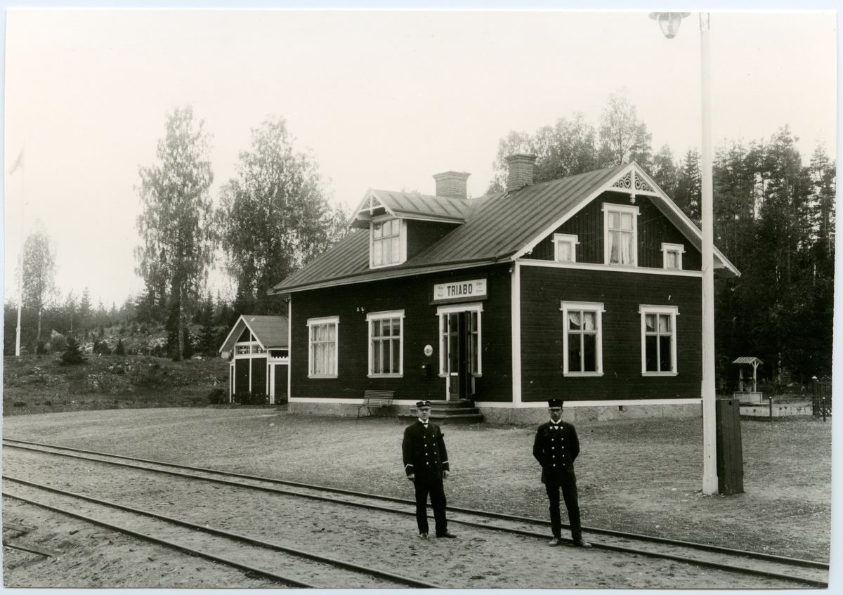 Växjö-Åseda-Hultsfreds Järnväg, VÅHJ. Stm. A. Widlund.