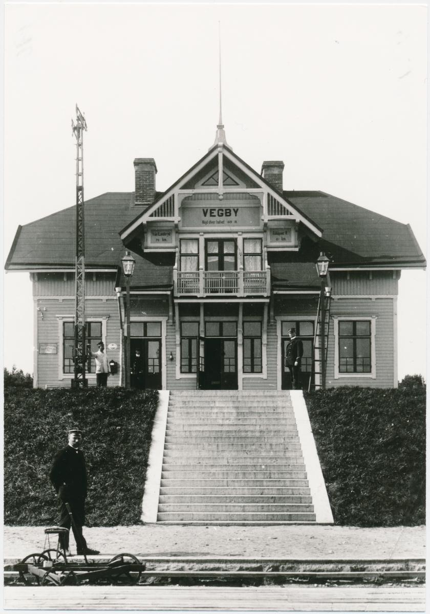 Vegby station
