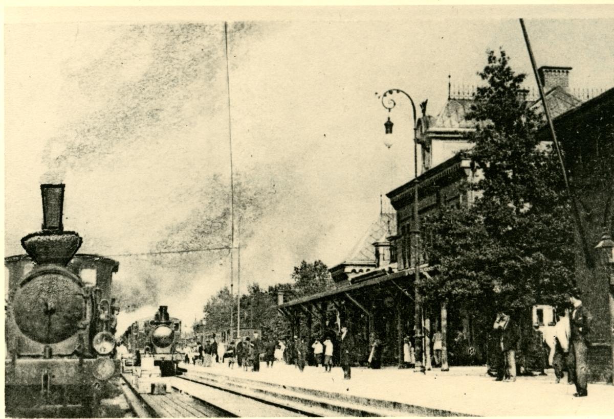 Hallsbergs järnvägsstation