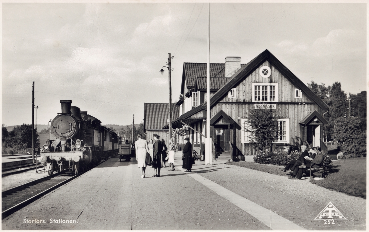 Storfors station.