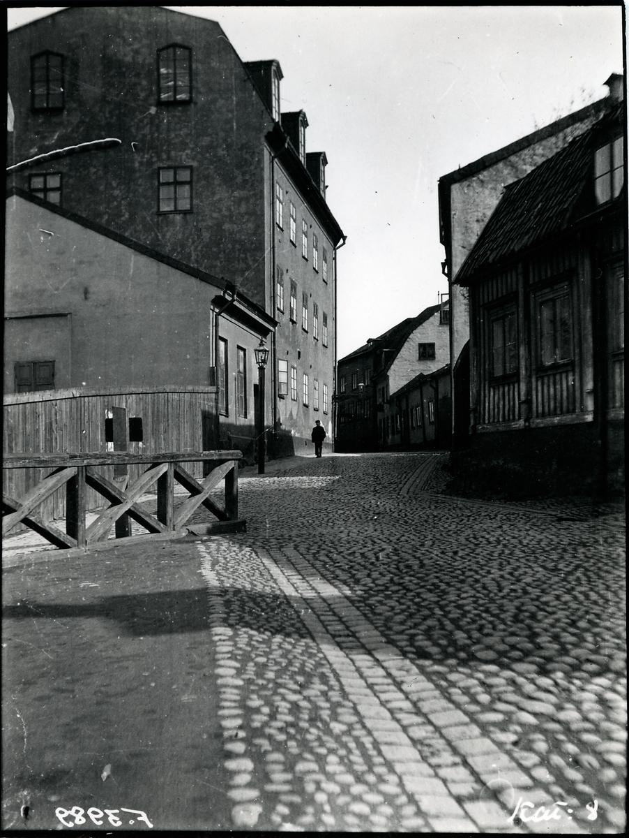 Stockholm 1900-talet. Stora Glasbruksgatan 30, österut.