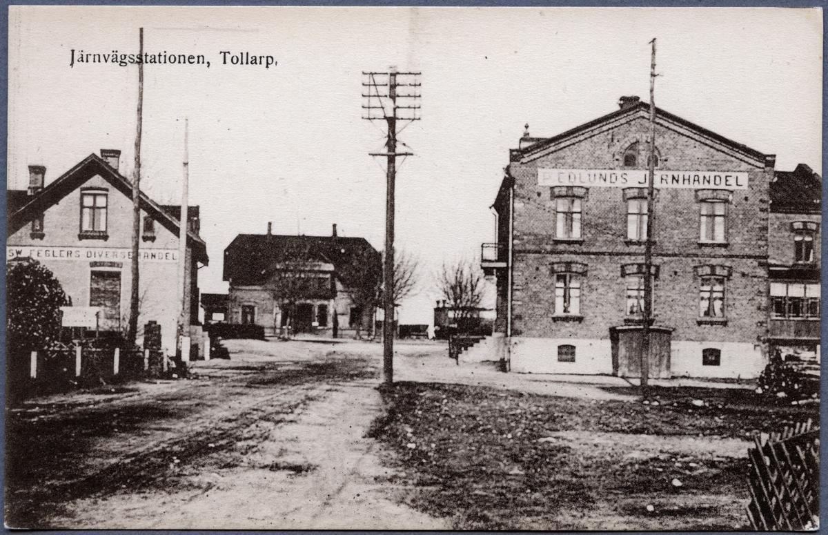 Tollarps Järnvägsstation.