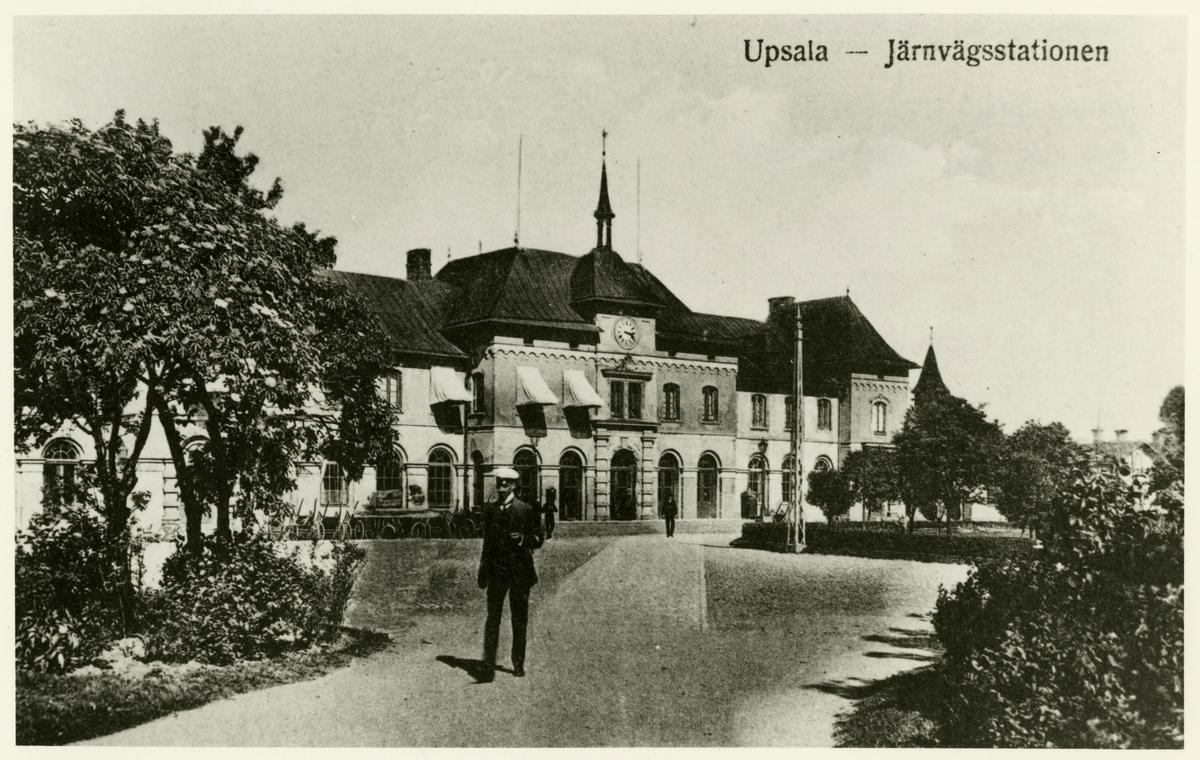Uppsala centralstation.
