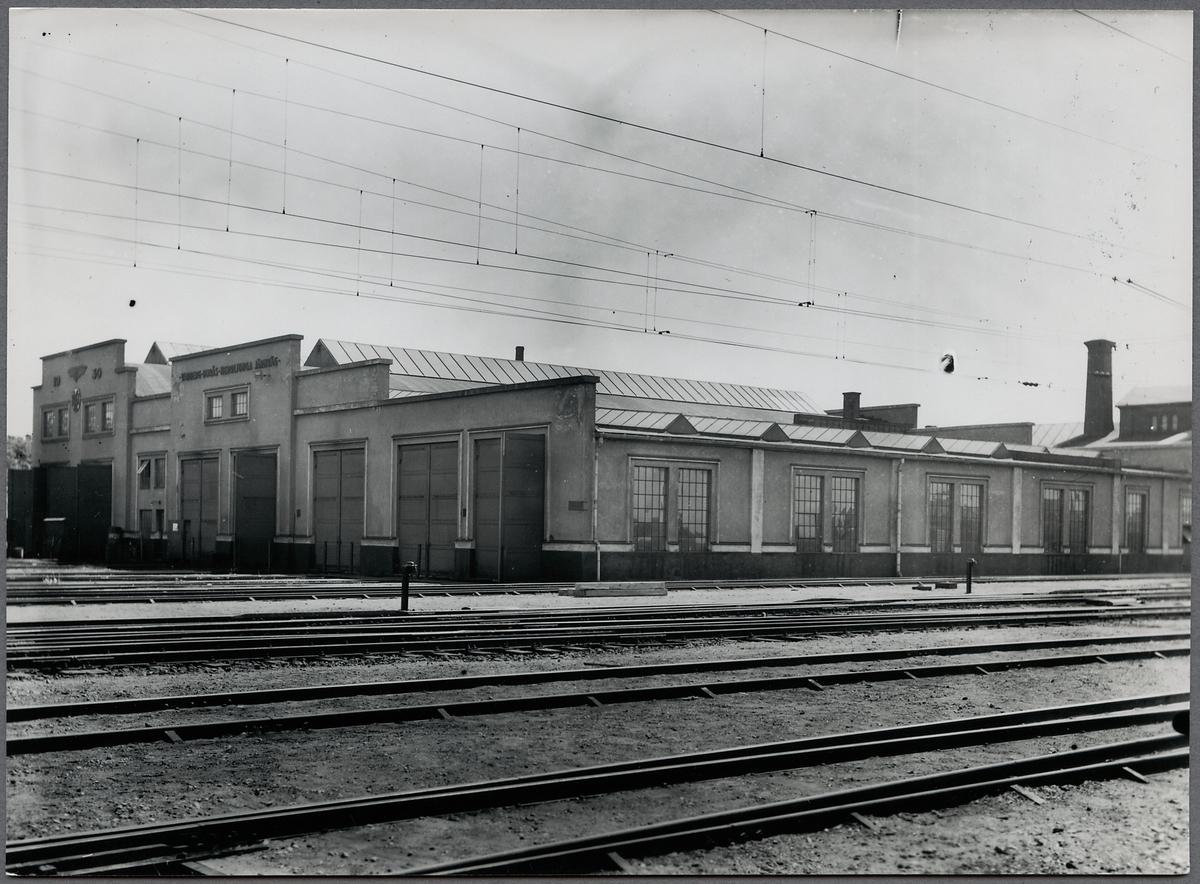 Järnvägsverkstaden i Varberg