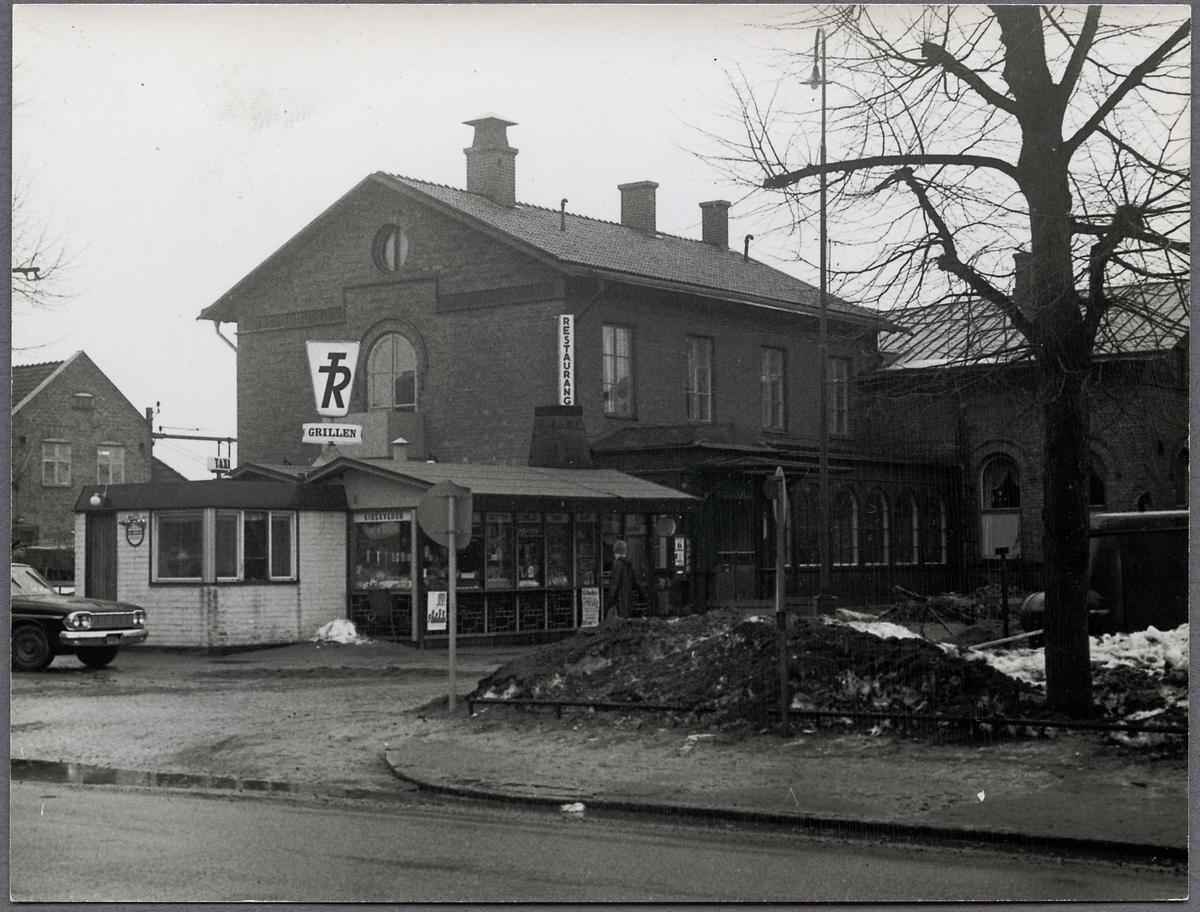 TR Grillen och restaurangen på Hallsberg station. Trafikrestauranter, TR.
