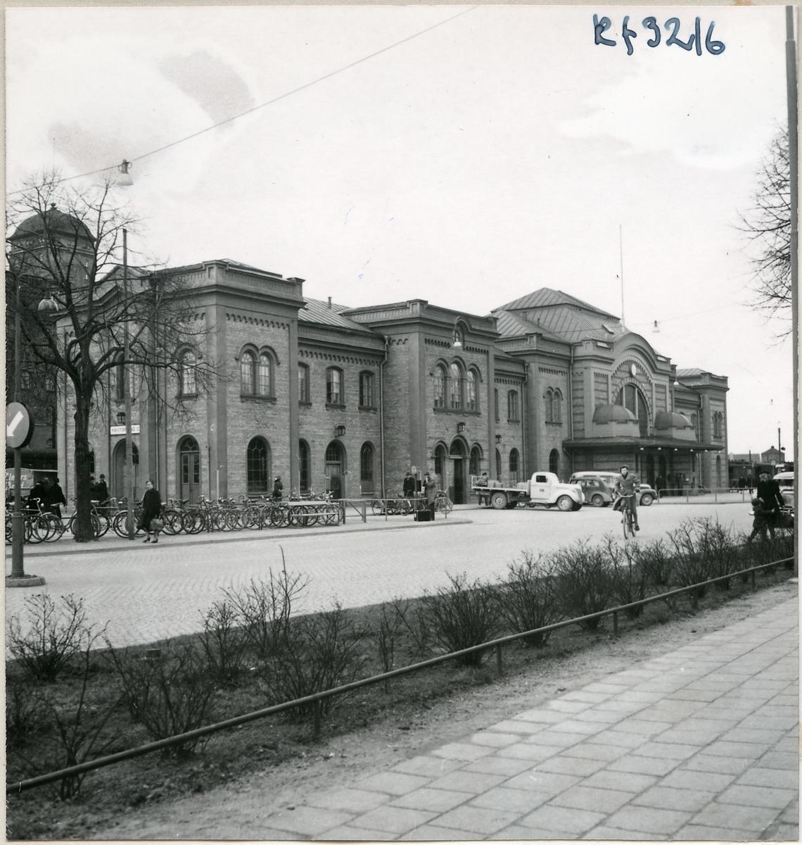 Kristianstad station.