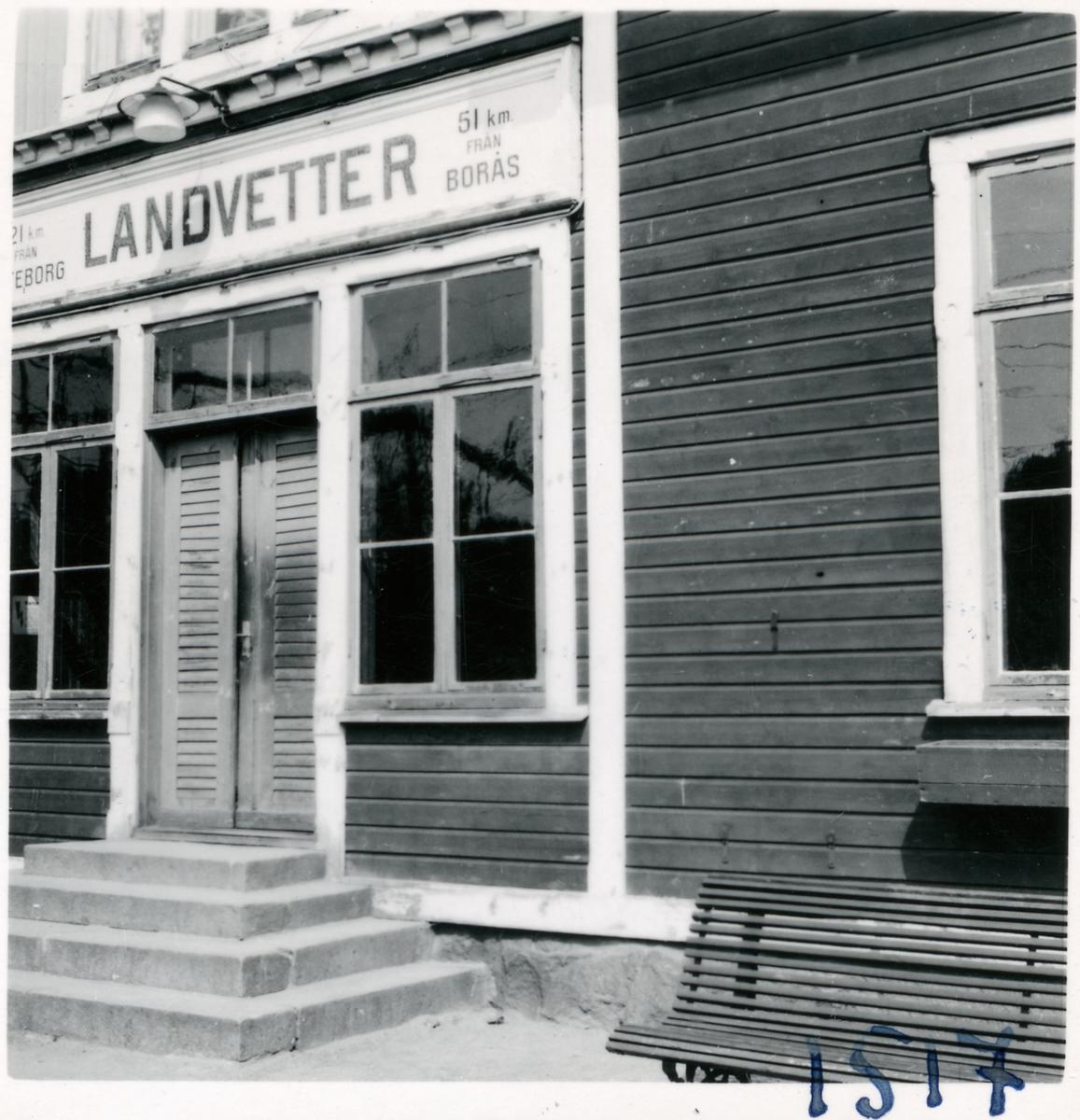 Landvetter stationshus.